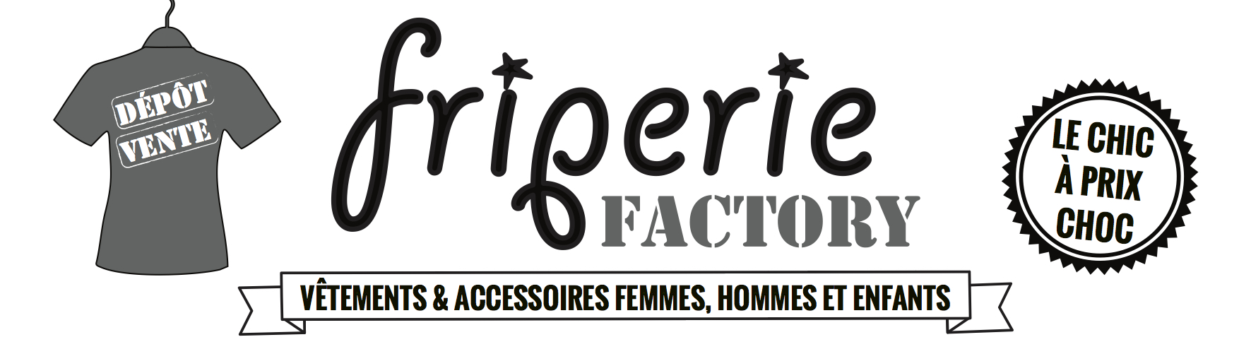 Enseigne Friperie Factory def