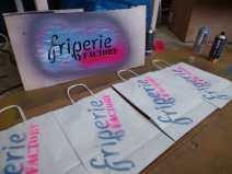 Série de sacs personnalisés Friperie Factory